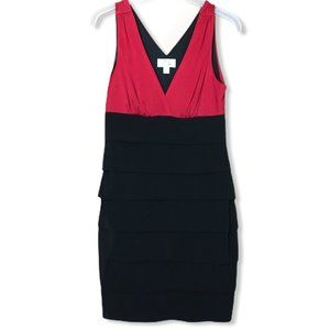 Sweet Storm Women's Dress Black Red Size L